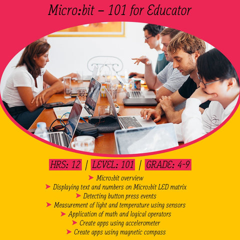 Micro:bit online course 101 for educator (with curriculum mapped for Victoria)
