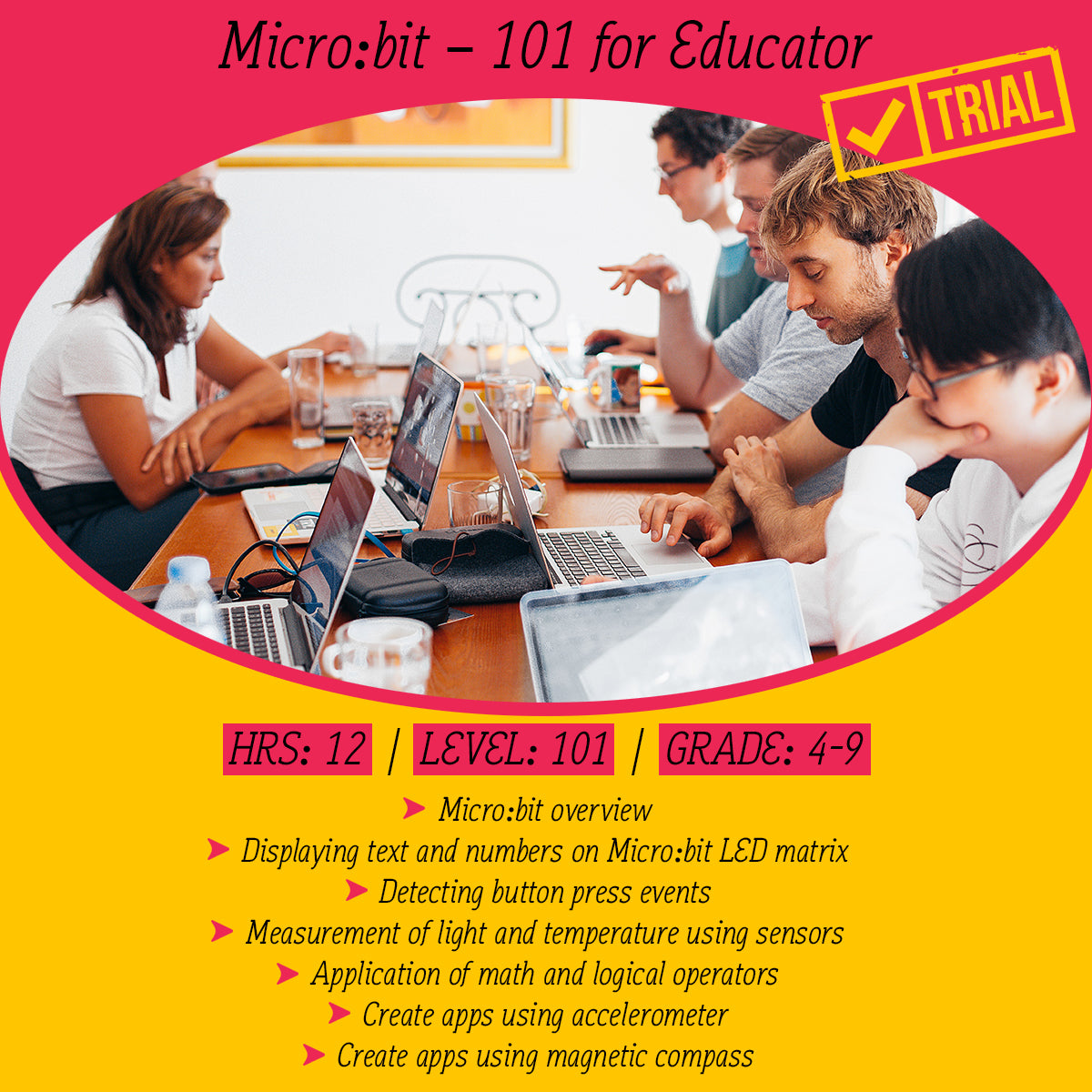 [Trial] Micro:bit online course 101 for educator (with curriculum mapped for Victoria)