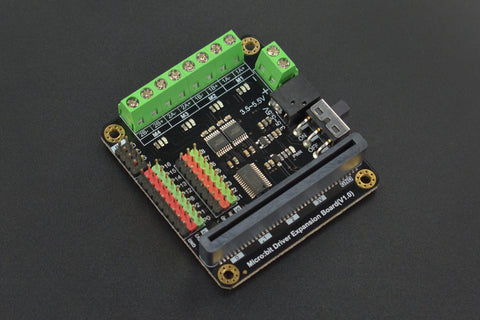 Micro:bit Driver Expansion Board - Buy - Pakronics®- STEM Educational kit supplier Australia- coding - robotics