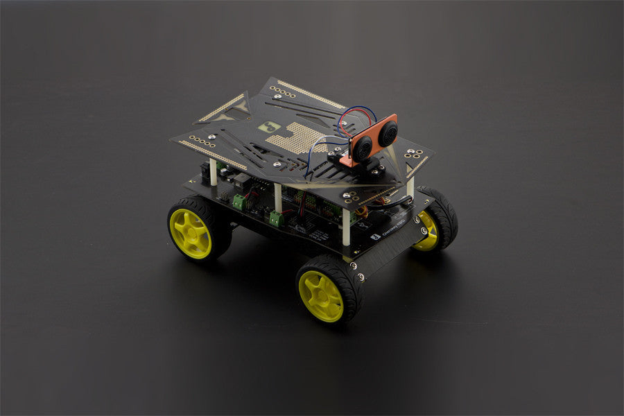 Cherokey 4WD Basic Robot Kit - Support IOS Control