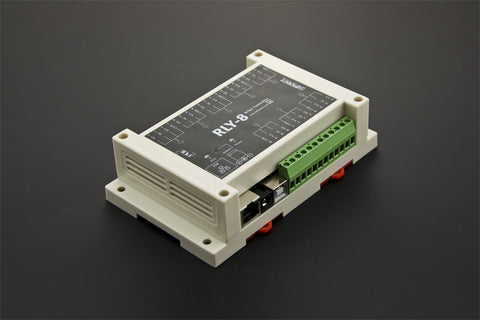 Buy Australia 8 Channel Ethernet Relay Controller (Support PoE and USB) , DF_DFR - DFRobot, Pakronics Melbourne  in Australia - 1