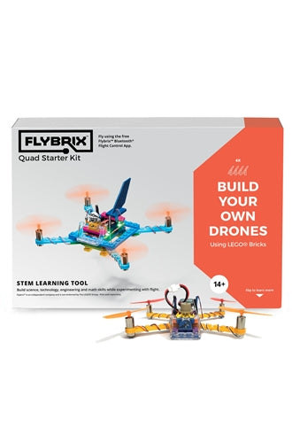Flybrix LEGO Drone Quadcopter Kit