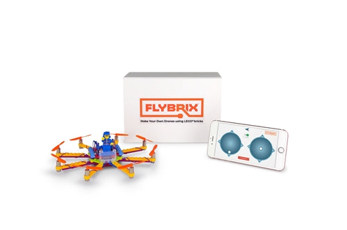 Flybrix LEGO Drone Octocopter Kit