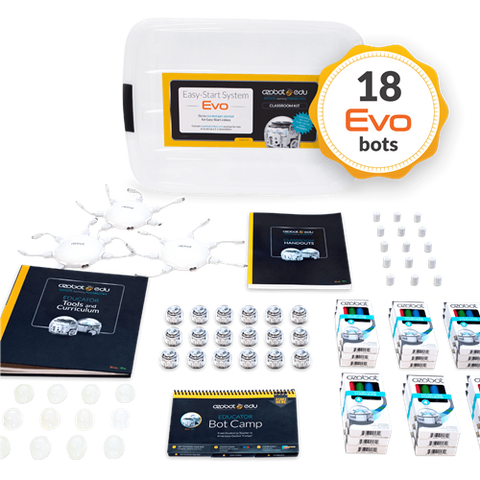 Ozobot Evo Classroom Kit - 18 Pack