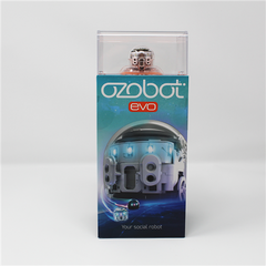Ozobot Evo Starter Pack - Crystal White - Buy - Pakronics®- STEM Educational kit supplier Australia- coding - robotics