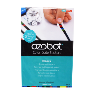 Ozobot Colour Code Sticker Pack
