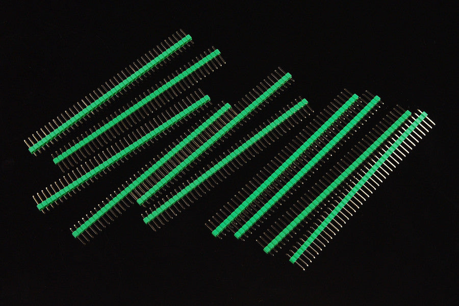 Buy Australia 10 Pcs 40 Pin Headers - Straight (Green) , DF_FIT - DFRobot, Pakronics Melbourne  in Australia - 1