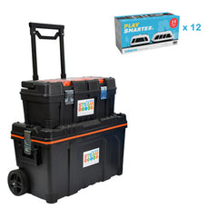 12 x Intelino Smart Trains with 1 Free Storage Kit - Buy - Pakronics®- STEM Educational kit supplier Australia- coding - robotics