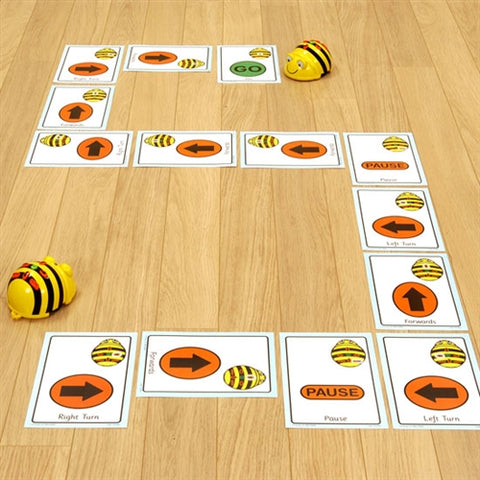 Giant Sequence Cards for Bee Bot and Blue Bot - Buy - Pakronics®- STEM Educational kit supplier Australia- coding - robotics