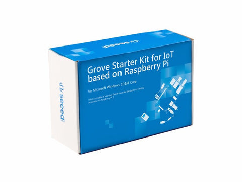 Grove Starter Kit for IoT based on Raspberry Pi - Buy - Pakronics®- STEM Educational kit supplier Australia- coding - robotics