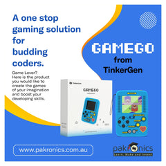 GameGo -Makecode Arcade compatible game console