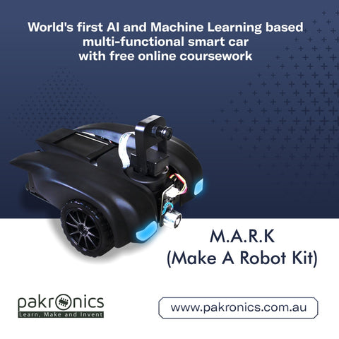 Make A Robot Kit (MARK) - for hands on AI learning