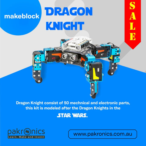 Dragon Knight Robot Kit