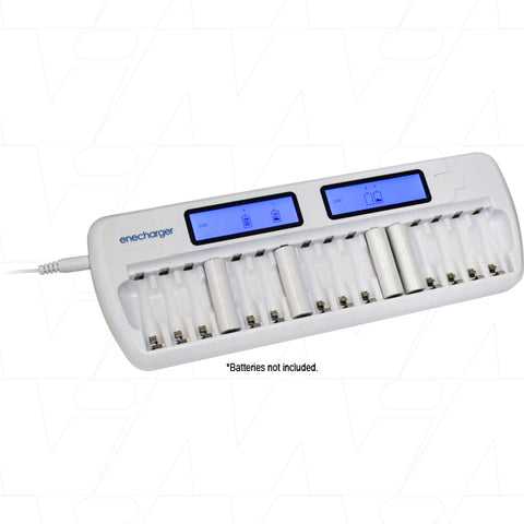 NiCd/NiMH Battery charger for AA and AAA 16 batteries.