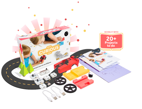 SAMLABS Curious Kit - Buy - Pakronics®- STEM Educational kit supplier Australia- coding - robotics