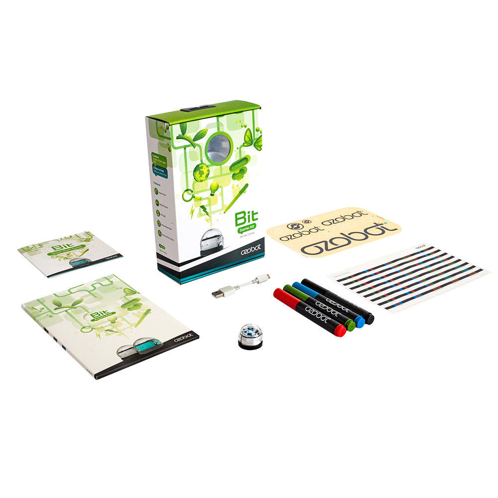 Ozobot Bit Starter Pack (White) - Buy - Pakronics®- STEM Educational kit supplier Australia- coding - robotics