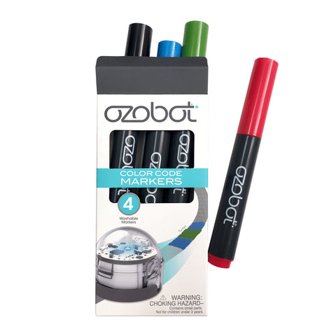 Ozobot Washable Markers (Colour)