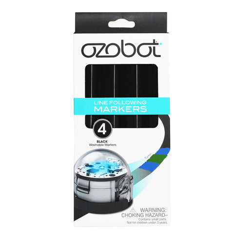 Ozobot Washable Markers (Black)