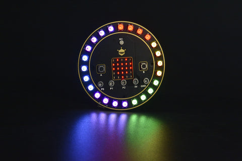 micro: Circular RGB LED Expansion Board - Buy - Pakronics®- STEM Educational kit supplier Australia- coding - robotics