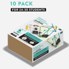 Strawbees Robotic Inventions for the Micro:bit – 10 Pack - Buy - Pakronics®- STEM Educational kit supplier Australia- coding - robotics