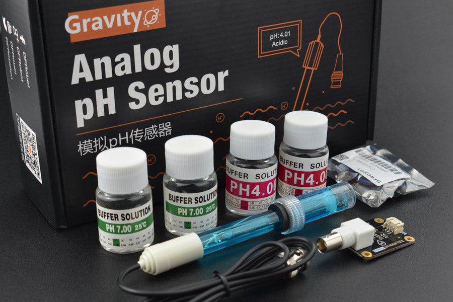 Gravity: Analog pH Sensor/Meter Kit V2 - Buy - Pakronics®- STEM Educational kit supplier Australia- coding - robotics