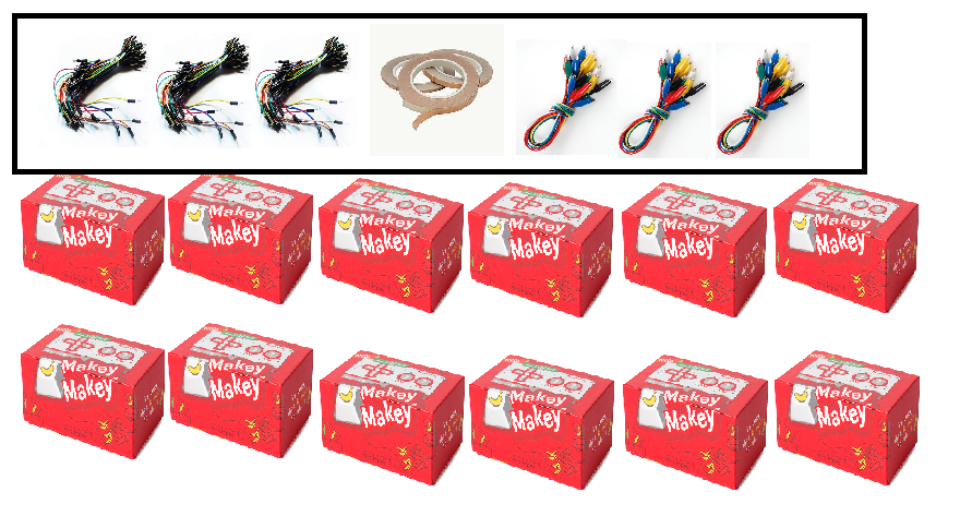 Makey Makey classroom pack (12 Pcs) - Buy - Pakronics- Melbourne Sydney Queensland Perth  Australia - Educational kit - coding - robotics