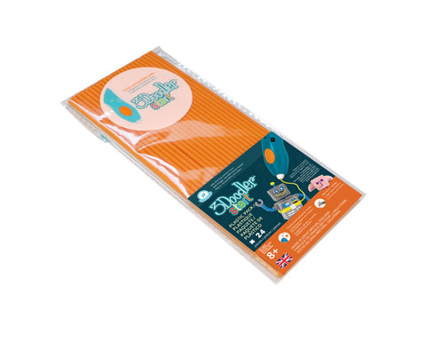 3Doodler Start Eco-Plastic-Tangerine Tang - Buy - Pakronics®- STEM Educational kit supplier Australia- coding - robotics