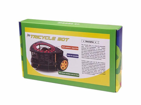 Buy Australia Tricycle Bot , Robotics kits - Seeed Studio, Pakronics Melbourne  in Australia - 1