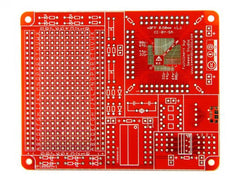 Buy Australia QFP surface mount protoboard - 0.80mm + 0.50mm , Protoboards - Seeed Studio, Pakronics Melbourne  in Australia - 2