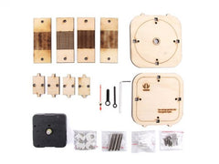 Back in Time – Make your wooden counter-clockwise clock - Buy - Pakronics®- STEM Educational kit supplier Australia- coding - robotics