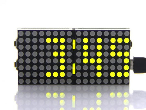 Buy Australia Matrix Clock , LED Matrix - Seeed Studio, Pakronics Melbourne  in Australia - 1