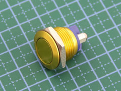 Buy Australia 16mm Anti-vandal Metal Push Button - Glory Gold , Buttons & Switches - Seeed Studio, Pakronics Melbourne  in Australia - 4