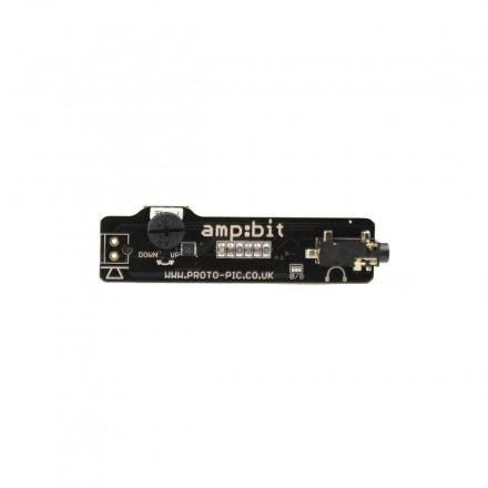 AMP:BIT class D amplifier for micro:bit with headphone jack - Buy - Pakronics®- STEM Educational kit supplier Australia- coding - robotics
