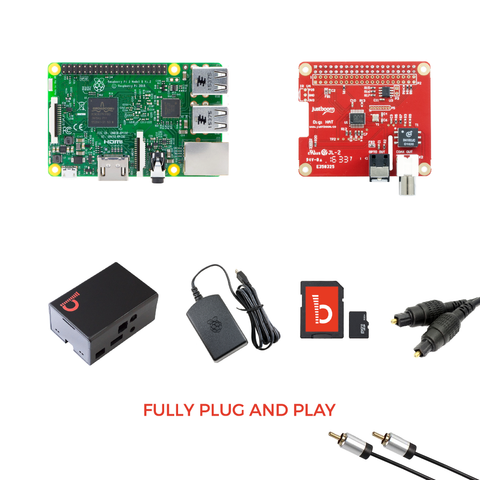 JustBoom Digi HAT Kit - Buy - Pakronics®- STEM Educational kit supplier Australia- coding - robotics