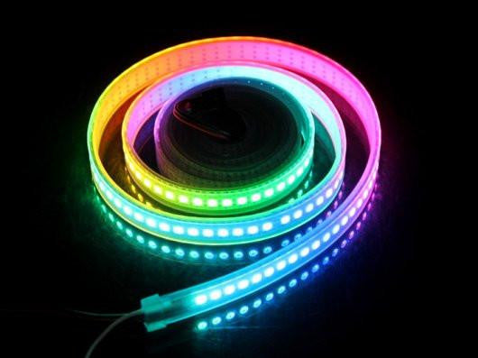Buy Australia WS2812B Digital RGB LED Waterproof Flexi-Strip 144 LED/meter - 2 meter , LED Strip - Seeed Studio, Pakronics Melbourne  in Australia - 1