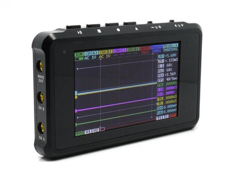 Buy Australia DSO Quad - Aluminium Alloy Black , Oscilloscopes - Seeed Studio, Pakronics Melbourne  in Australia - 1
