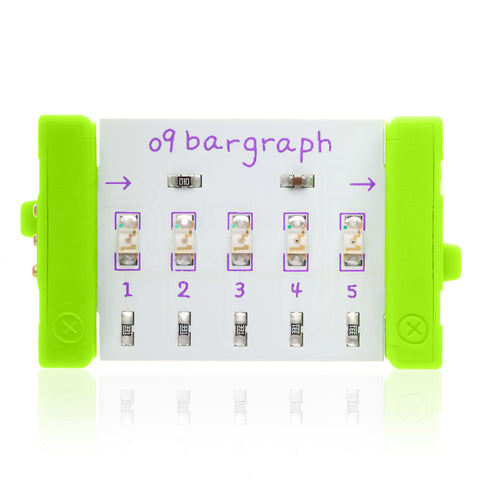 LittleBits Output Bits - Bargraph