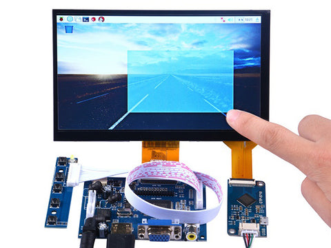 7 Inch 1024x600 Capacitive Touch Screen DIY Kit - Buy - Pakronics- Melbourne Sydney Queensland Perth  Australia - DIY Electronics estore