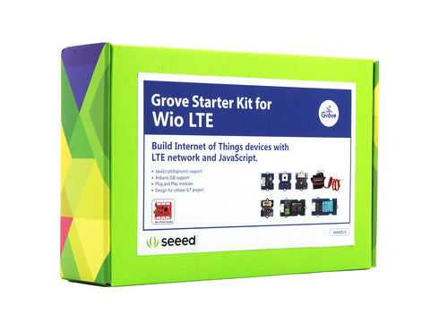 Grove Starter Kit for Wio LTE - Buy - Pakronics®- STEM Educational kit supplier Australia- coding - robotics