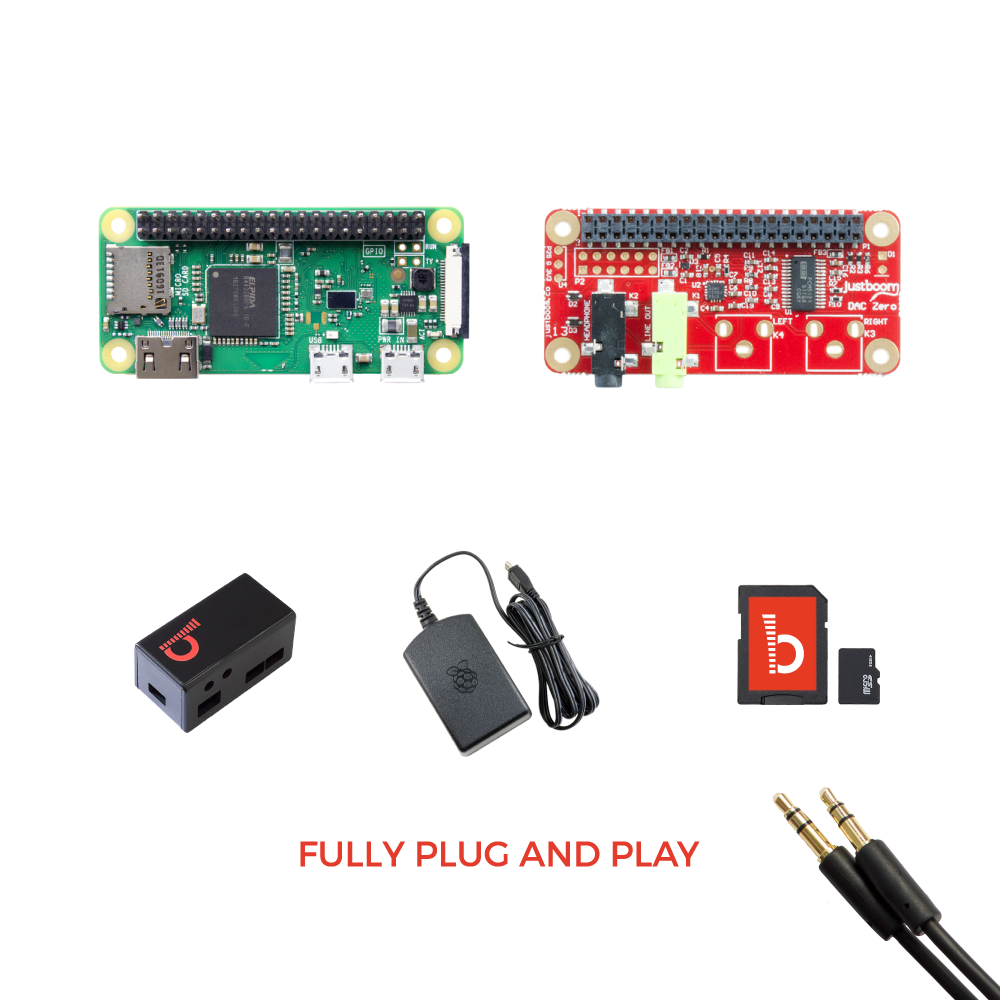 JustBoom DAC Zero Kit - Buy - Pakronics®- STEM Educational kit supplier Australia- coding - robotics