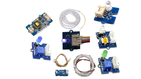 Grove light modules (8) kit for Microbit and Arduino - Buy - Pakronics®- STEM Educational kit supplier Australia- coding - robotics