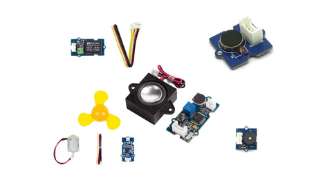 Grove actuator modules(5) kit for Microbit and Arduino - Buy - Pakronics®- STEM Educational kit supplier Australia- coding - robotics