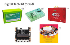 Digital Tech Kit for 6-8 grades - Buy - Pakronics®- STEM Educational kit supplier Australia- coding - robotics