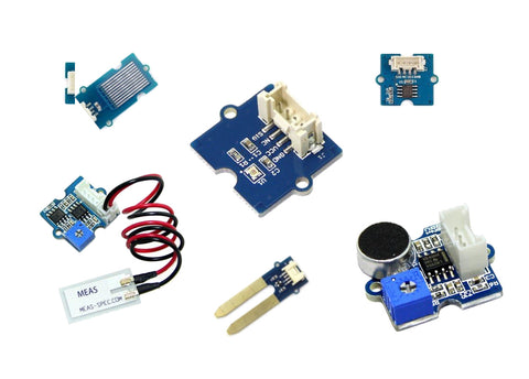 Grove environment sensing modules(6) kit for Microbit and Arduio