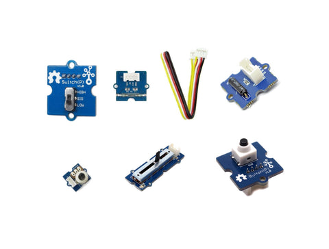 Grove Input modules (6) kit for Microbit and Arduino - Buy - Pakronics®- STEM Educational kit supplier Australia- coding - robotics