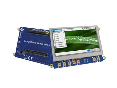 Buy Australia 4.3'' LCD Cape for BeagleBone Black ‐ Touch Display , BeagleBone - Seeed Studio, Pakronics Melbourne  in Australia - 1
