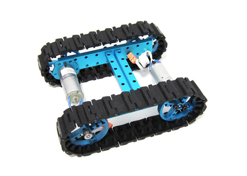 Buy Australia Starter Robot Kit-Blue(No Electronics) , MB_Robot Kits - MakeBlock, Pakronics Melbourne  in Australia - 1