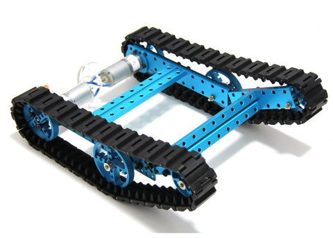 Buy Australia Lab Robot Kit-Blue (No Electronics) , MB_Robot Kits - MakeBlock, Pakronics Melbourne  in Australia - 1