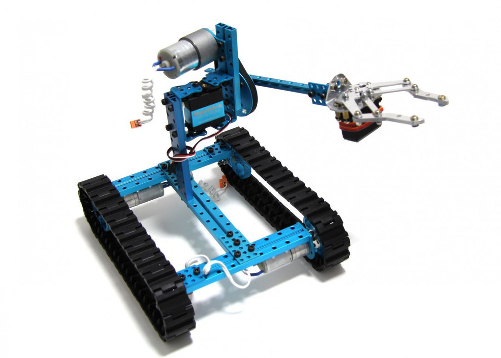Buy Australia Ultimate Robot Kit-Blue(No Electronics) , MB_Robot Kits - MakeBlock, Pakronics Melbourne  in Australia - 1