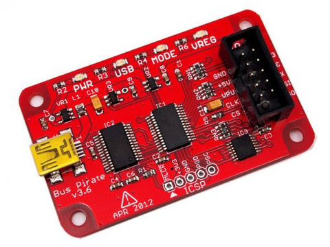 Buy Australia Bus Pirate v3.6 universal serial interface , Others - Seeed Studio, Pakronics Melbourne  in Australia - 1